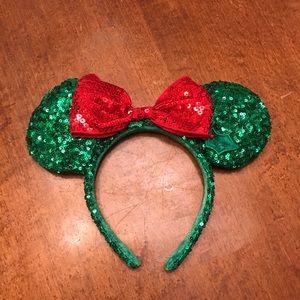 Minnie Christmas Ears